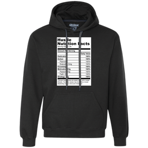 Reformulated: Hustle Nutrition Facts Hoodie