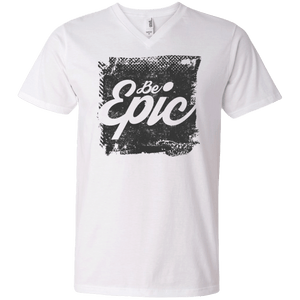 Be Epic Men's Printed V-Neck T-Shirt