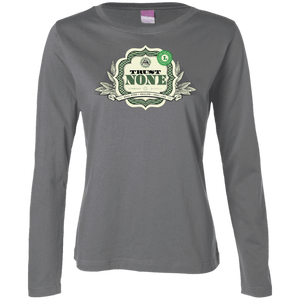 Trust None - Money Edition - Women's Long Sleeve Shirt