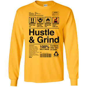 Hustle & Grind Label Long Sleeve Shirt