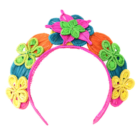 POLKA.CO Multicolour Bouquet Headpiece