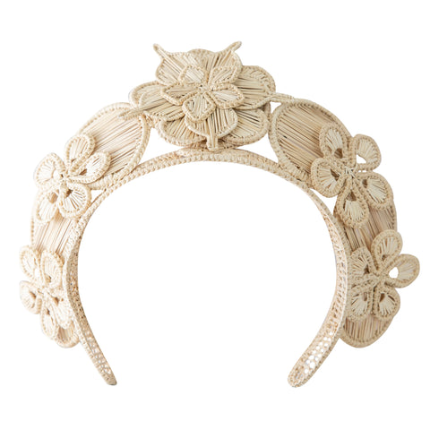 POLKACO Natural Bouquet Headpiece