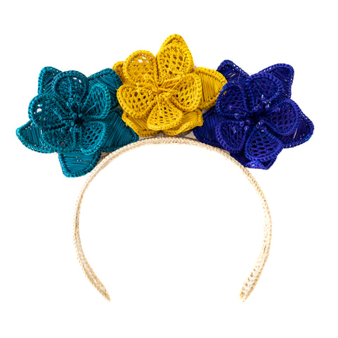 POLKACO Carmen Headpiece - Blues