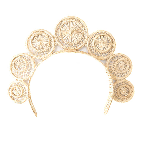 POLKACO Natural Swirl Headpiece