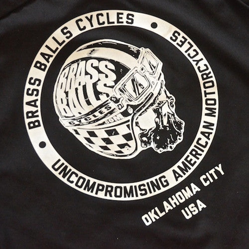 black dickies shop shirt brass balls cycles