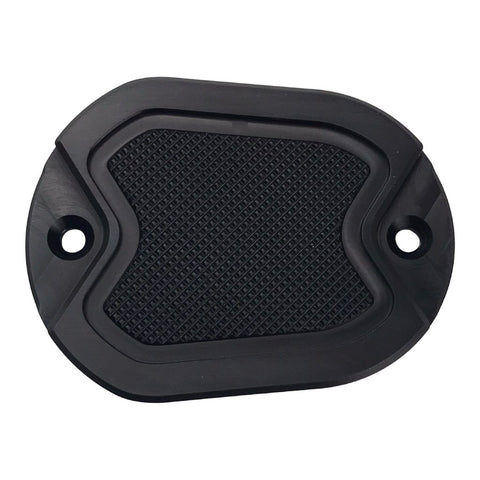 Master Cyl Cover Sportster 2004-2017 Black Knurled