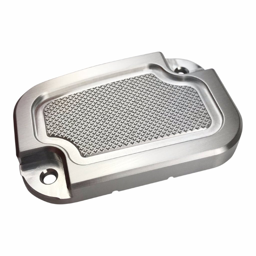 Master Cyl Cover Touring 2013-2018 Brushed Knurled