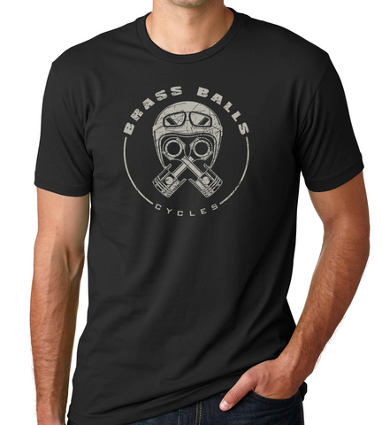 Piston Helmet ss T-Shirt - Black