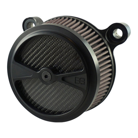 Air Cleaner Kit - F1 - HD Big Twin Models - Black