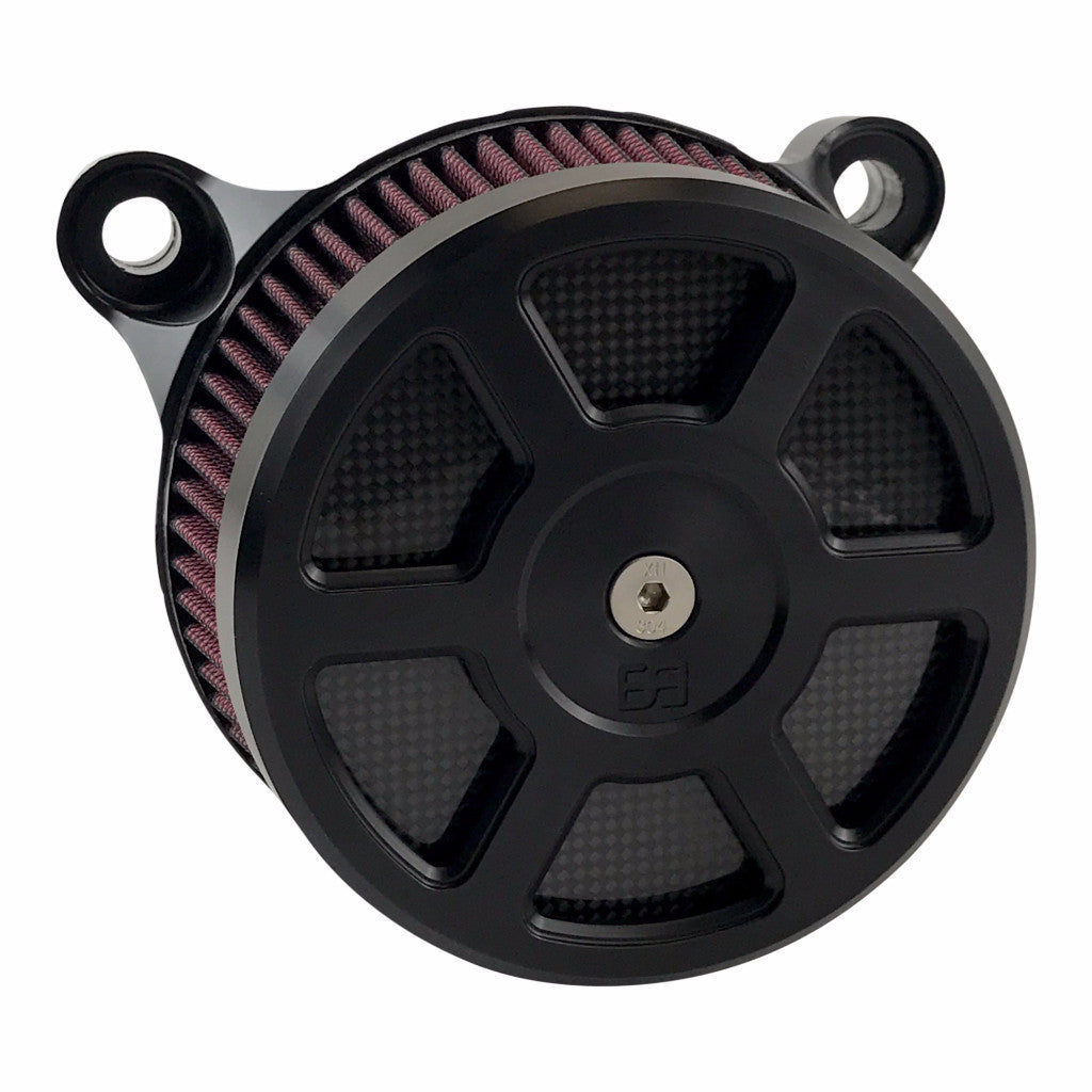 Air Cleaner Kit - Defender - HD Big Twin Models - Black