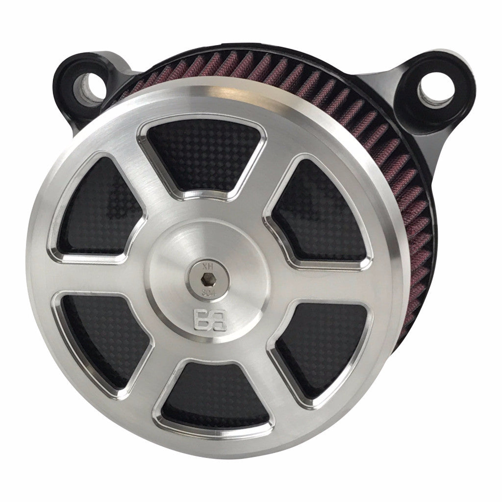 Air Cleaner Kit - Defender - HD Big Twin Models - Natural