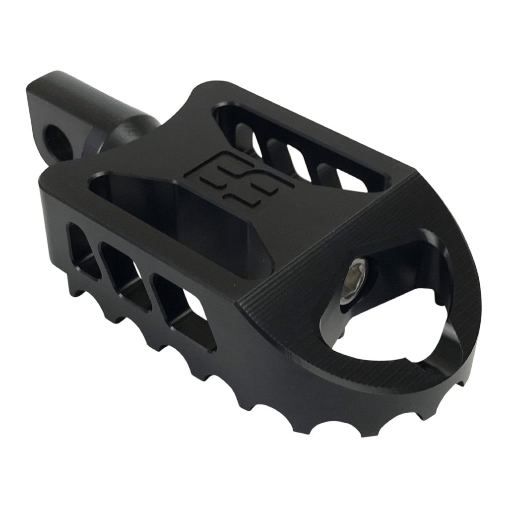 BBMX Foot Pegs: Black Anodized