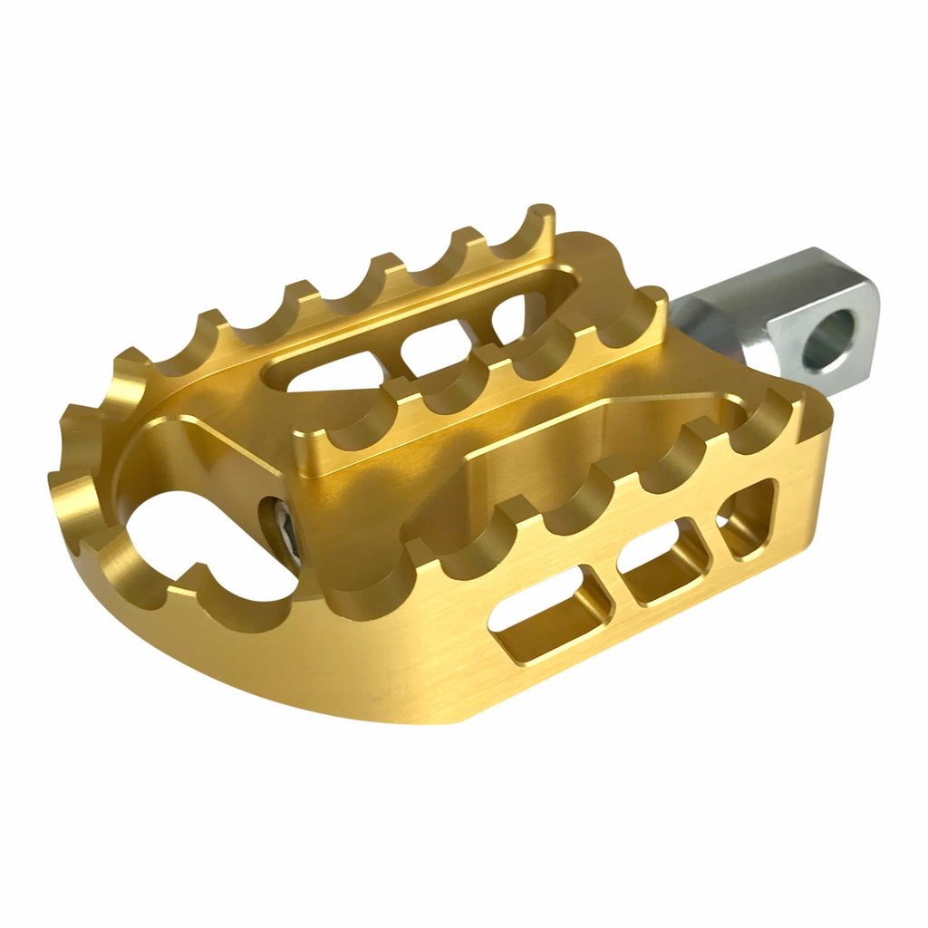 BBMX Foot Pegs: Gold Anodized
