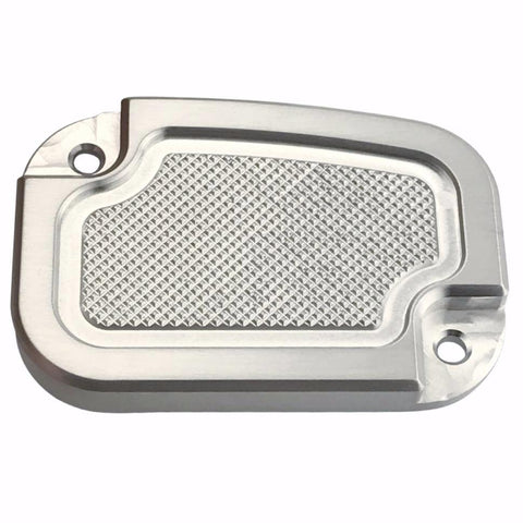 Clutch Master Cyl Cover Touring 2014-2018 Brushed Knurled