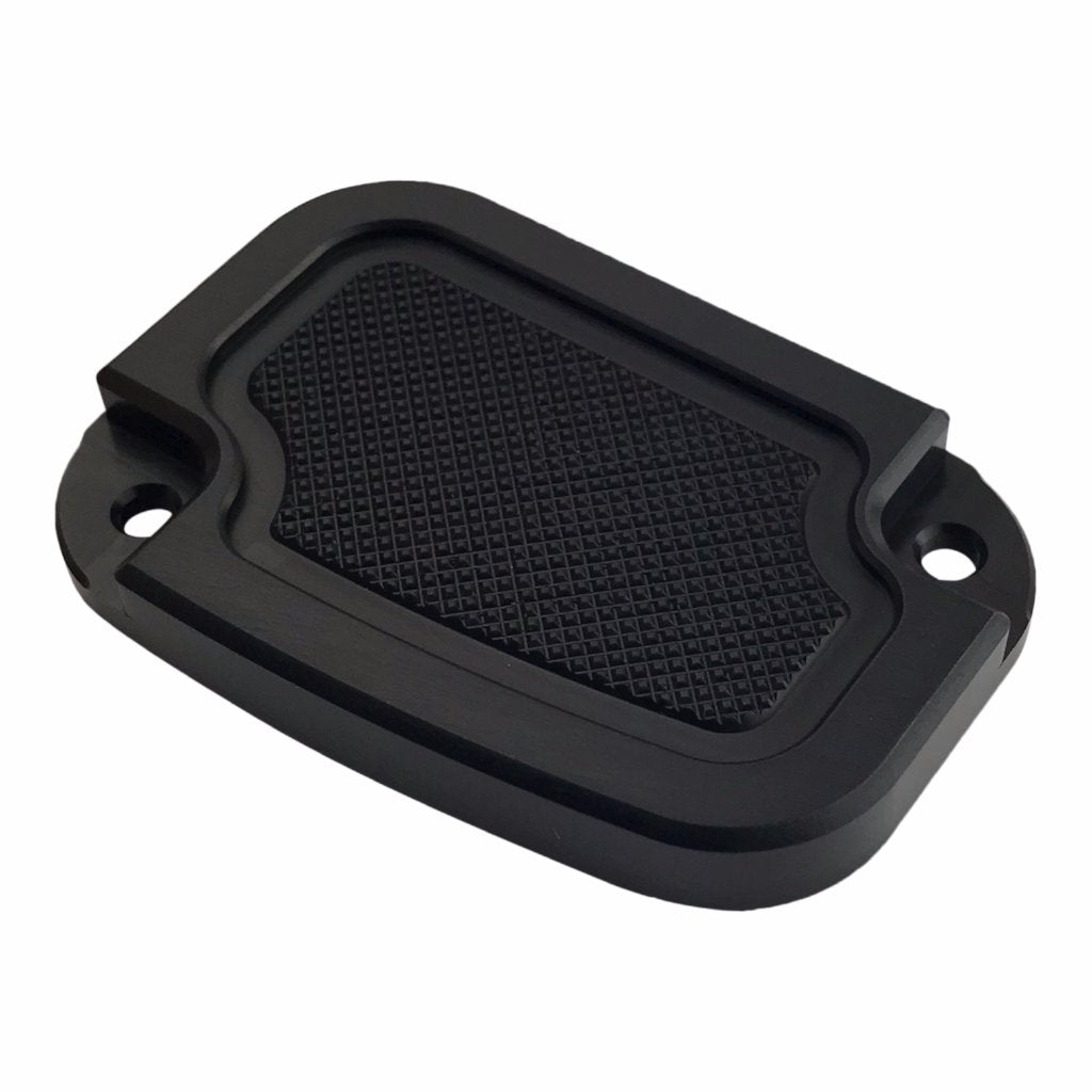 Master Cyl Cover Touring 2013-2018 Black Knurled