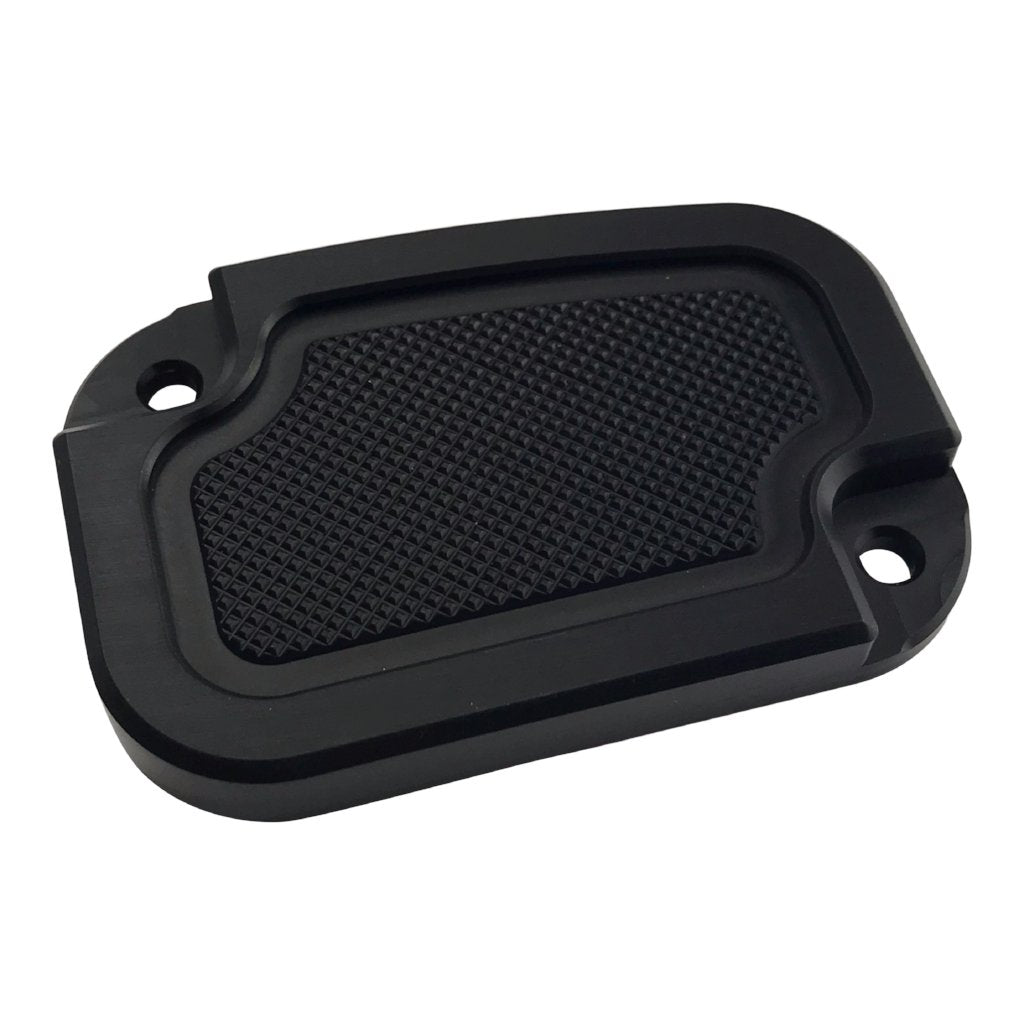 Clutch Master Cyl Cover Touring 2014-2018 Black Knurled
