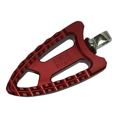 Meathooks Foot Pegs - Red Anodized