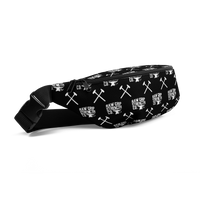 RGSCo. Fanny Pack - black w/white back