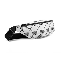RGSCo. Fanny Pack - white w/ black back