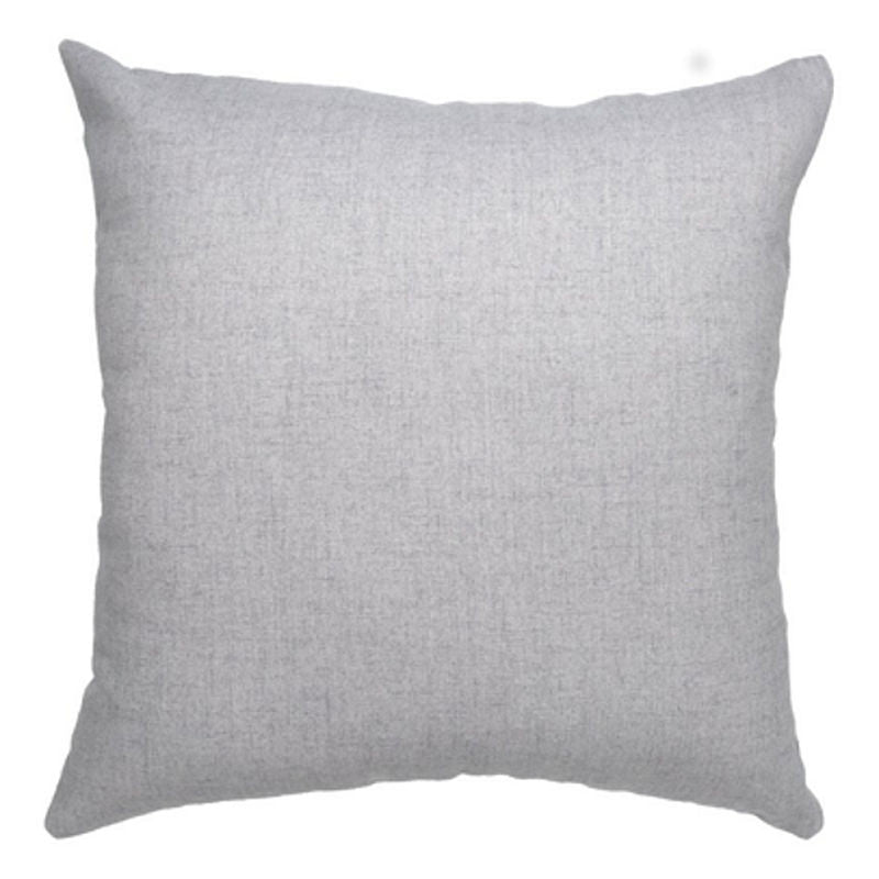 3Square minimalist grey fibre filled cushion | Simple Palette