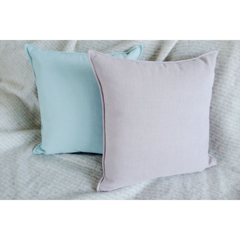 3Square minimalist cushion green | Shop now at Simple Palette