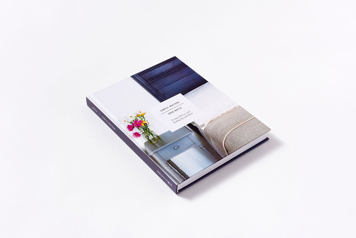 Simple Matters book by Erin Boyle | Shop it at Simple Palette