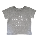 Cheerily 'The Snuggle is Real' Tee