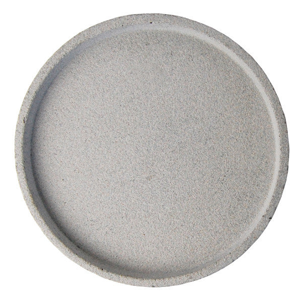Zakkia - Concrete round tray | Shop it at Simple Palette