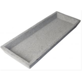 Zakkia Concrete Square Tray - Natural