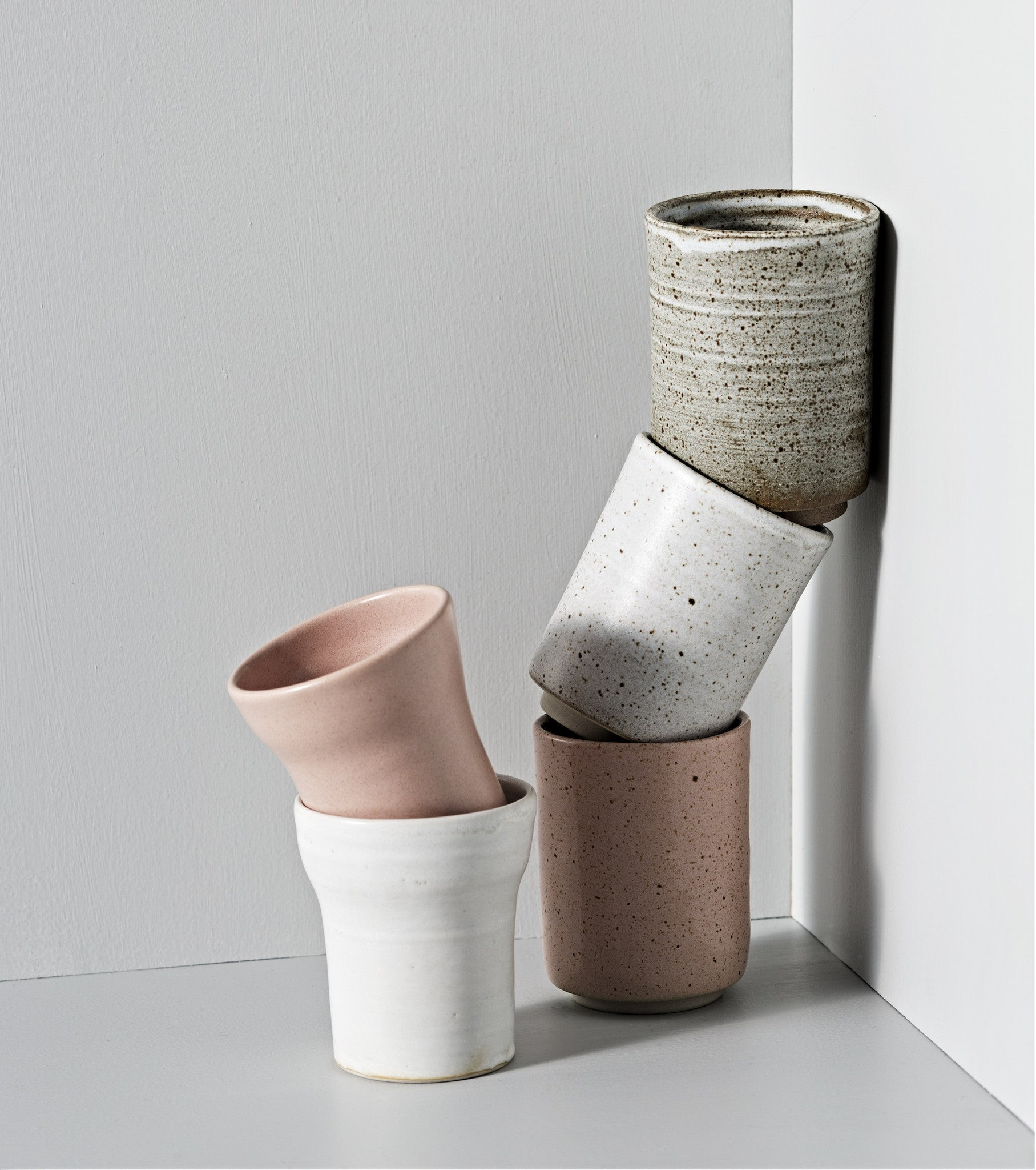 Zakkia - Simple style pink clay mug | Shop it at Simple Palette