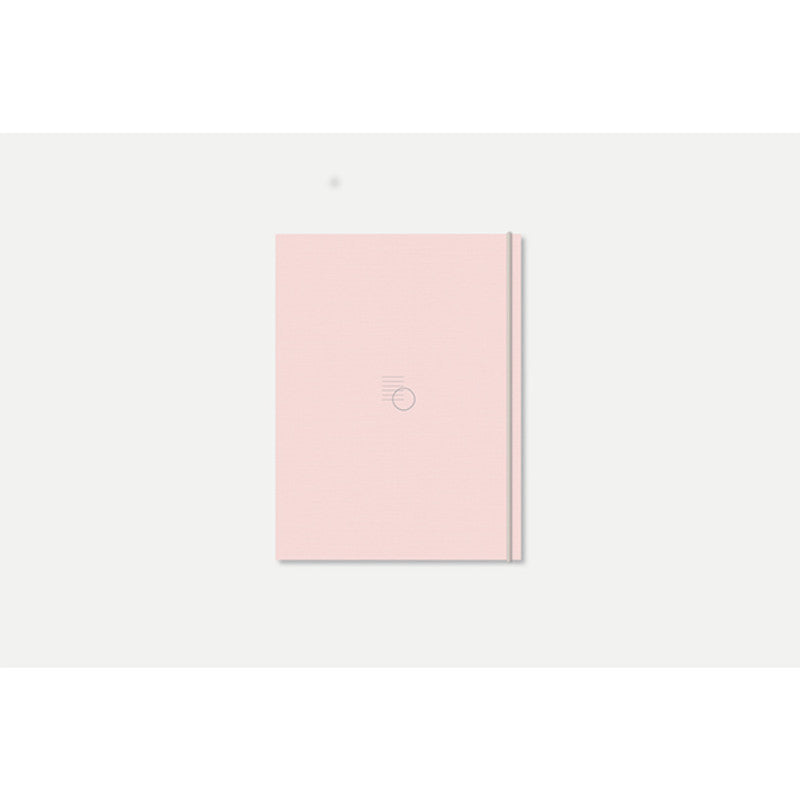 Gongjang pale pink simple minimalist diary | Shop it at Simple Palette