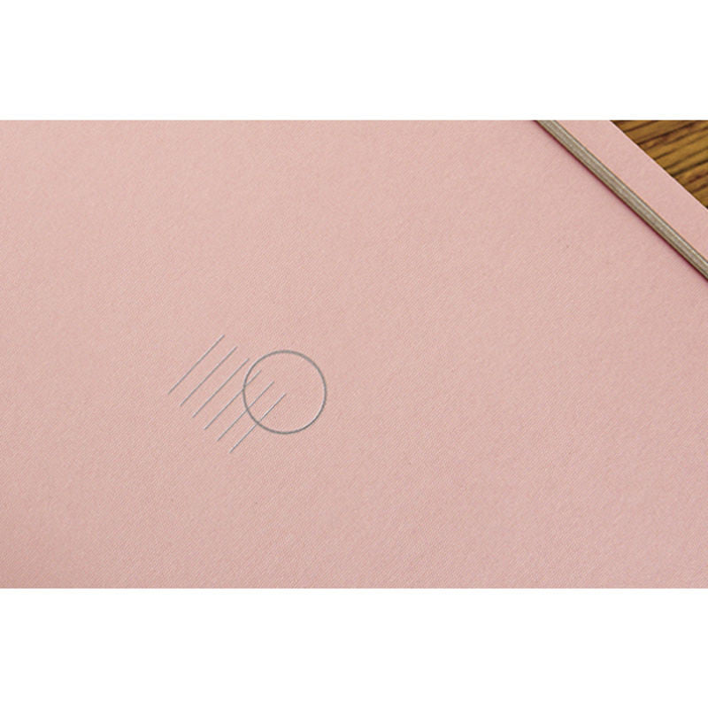 Gongjang pink simple minimalist diary | Shop it at Simple Palette