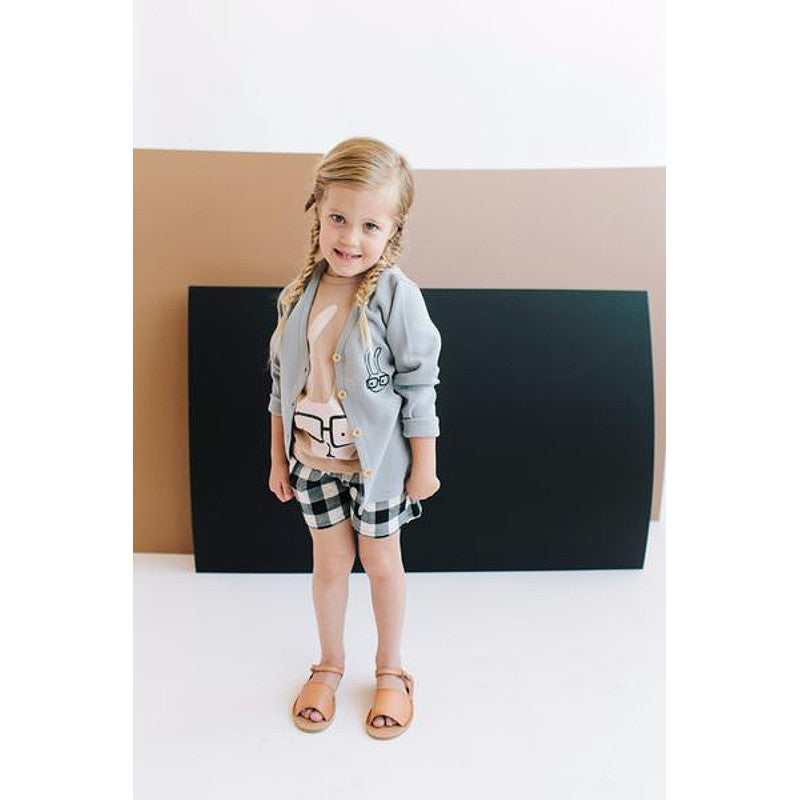 Tiny Rain - Kids Bunny Cardigan | Simple Palette
