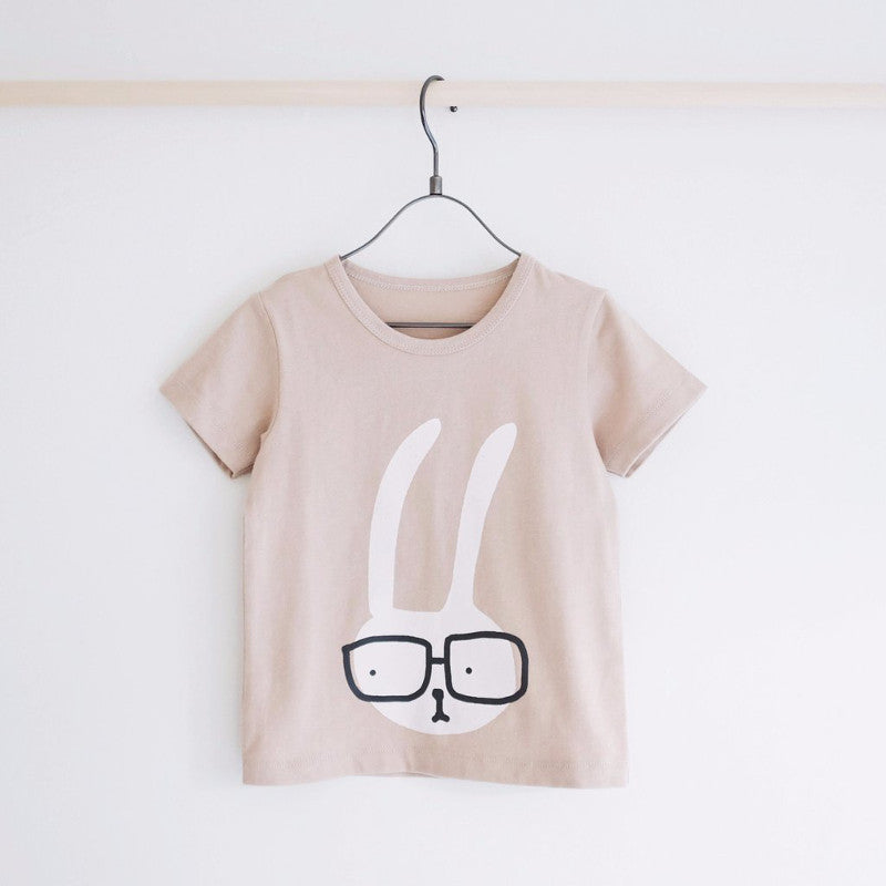 Tiny Rain - Bunny Tee | Simple Palette