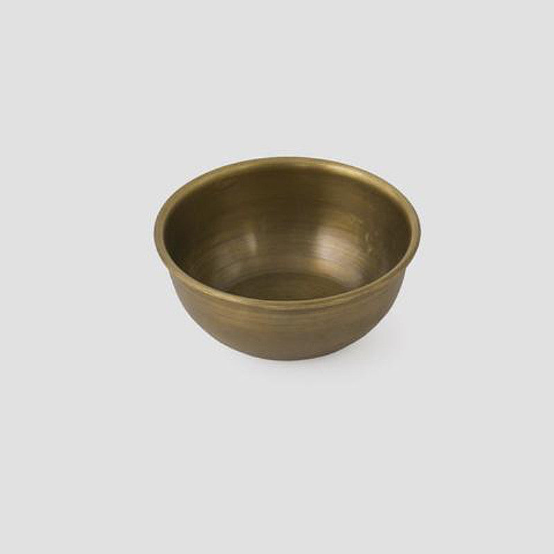 Fog Brass Bowl Small | Simple Palette