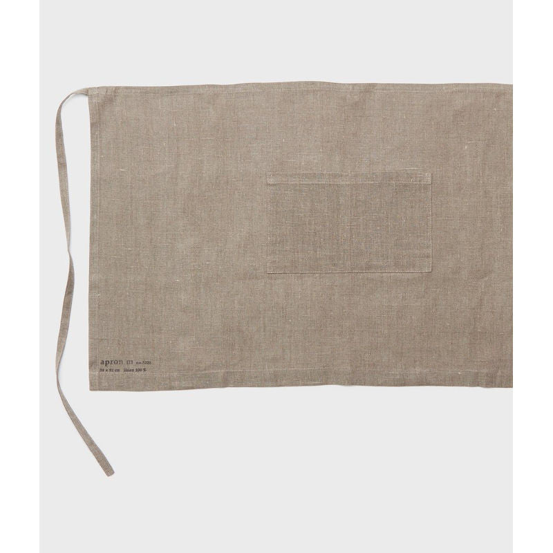 Fog Linen Midi Apron Natural | Simple Palette