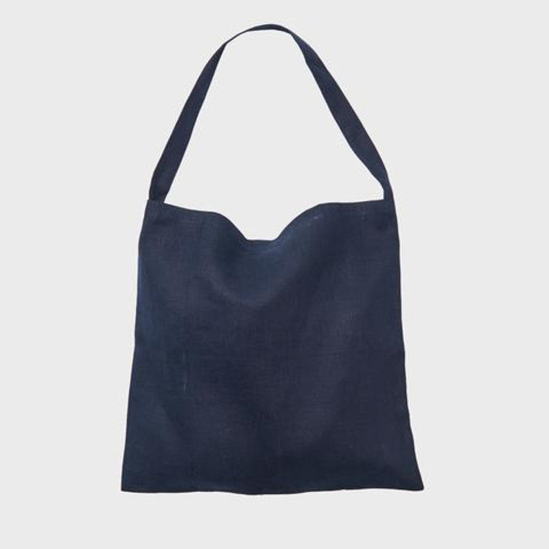 Fog Linen Tote Bag Nuit | Simple Palette