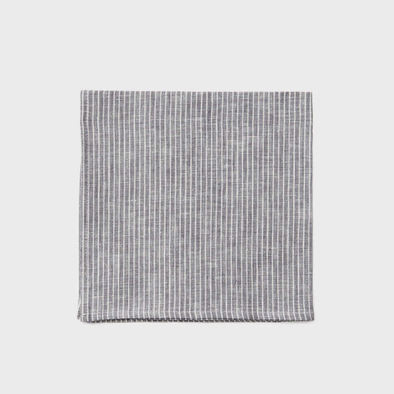 Fog Linen Napkin - Grey White | Simple Palette