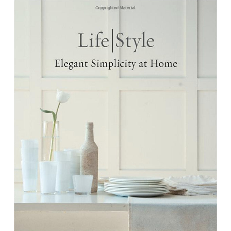 Lifestyle Elegant book by Tricia Foley | Simple Palette