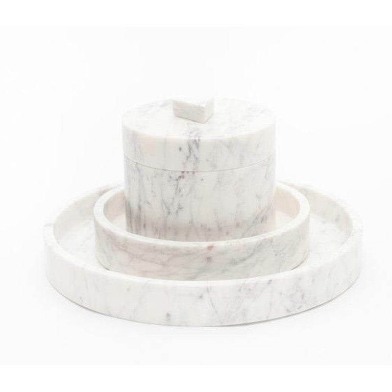Marble Basics - Marble box to store jewellery or any keepsakes | Simple Palette