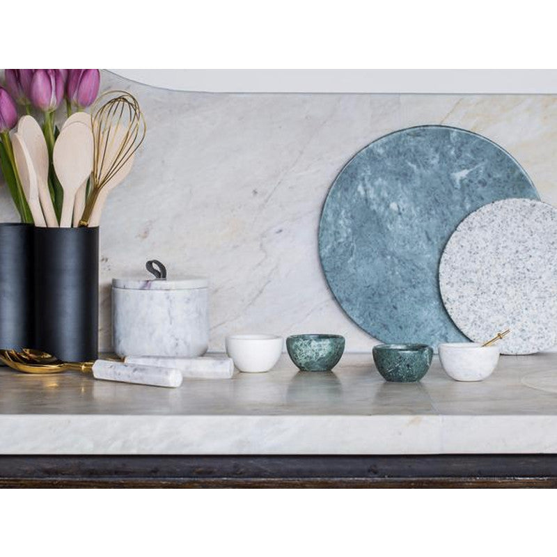 Marble Basics - Marble salad servers | Shop it at Simple Palette
