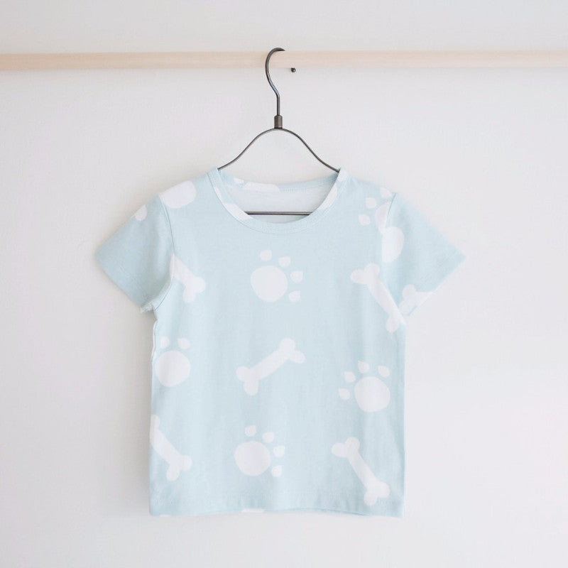 Tiny Rain - Woof Tee | Simple Palette
