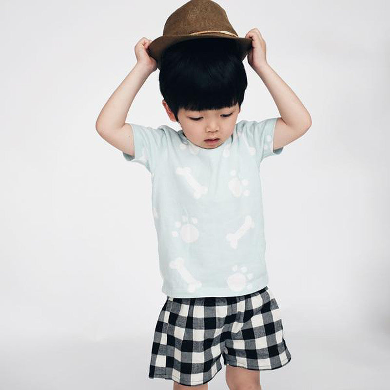 Tiny Rain - Kids Woof Tee | Simple Palette