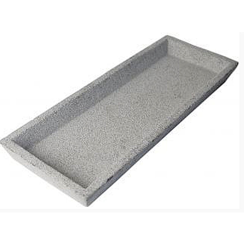 Zakkia - Concrete square tray | Shop it at Simple Palette