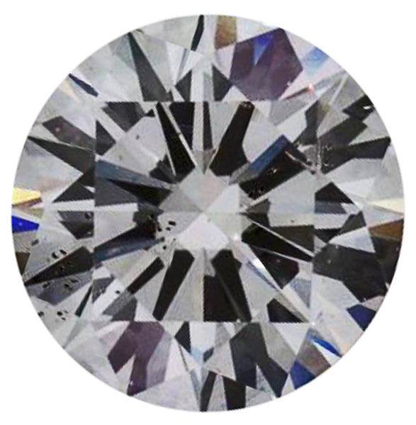 0.91ct F-SI2 Round Brilliant Cut Round Diamond