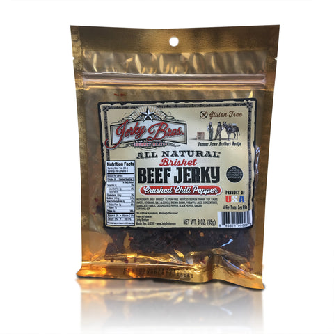 Crushed Chili Pepper Brisket Beef Jerky