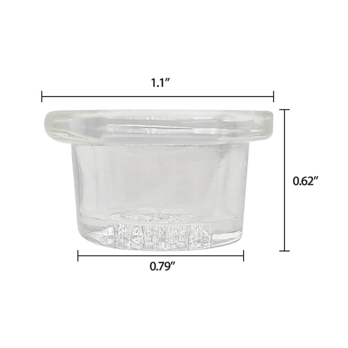 18mm Glass Bowl Replacement for Waxmaid Ice Spoon On sale