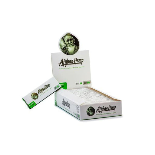 Afghan Hemp Rolling Paper Booklets On sale