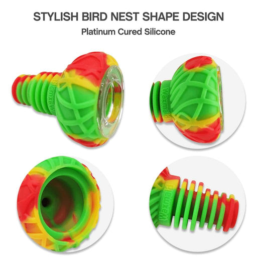 Bird Nest Silicone Glass Bowl On sale