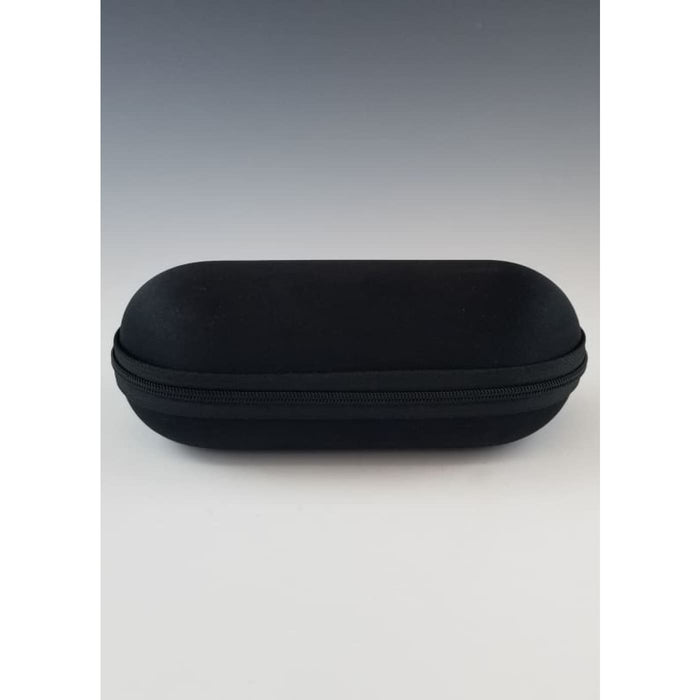 Black Hard Shell Case for Glass Pipes